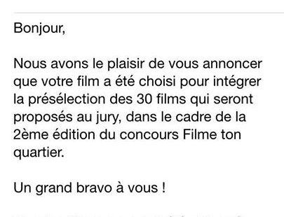Le film sur #Fontainebleau fait partie des 30 finalistes sur France 3 !! #paysdeFontainebleau…