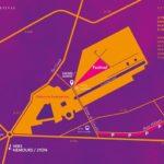 Pour le Festival Django Reinhardt dans le Parc du Château de Fontainebleau, une zone…