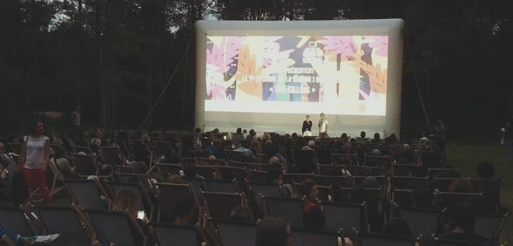 Projection en Plein Air, à l'Hippodrome de la Solle, 12 juillet. Dans le cadre…