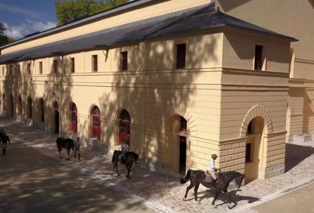 Samedi 15 juin, 10H30. Dernière visite de la saison à l'Ecole Militaire d'Equitation. Vous…